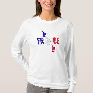 Sadies flag of france France speed skating hoody