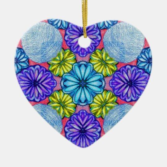 Sadie's Secret Garden Ceramic Ornament