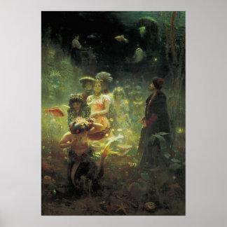 Sadko en el reino subacuático póster