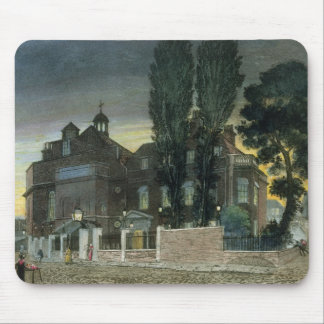 Sadler's Wells, 1826 (coloured engraving) Mouse Pad