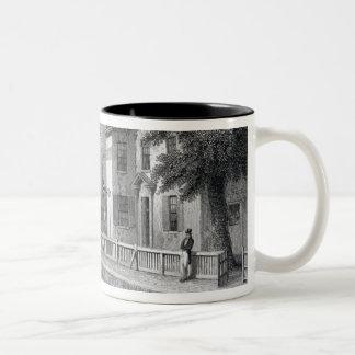Sadler's Wells Theatre, engraved by J. Garner Two-Tone Coffee Mug