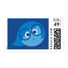 Sadness 2 postage stamp