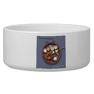 Sado-Domestics Two-Egg Scrambler Dog Bowl