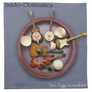 Sado-Domestics Two-Egg Scrambler Napkins