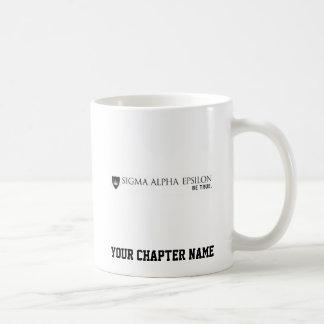 SAE Brand Black Coffee Mug