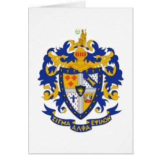 SAE Coat of Arms Color Greeting Card