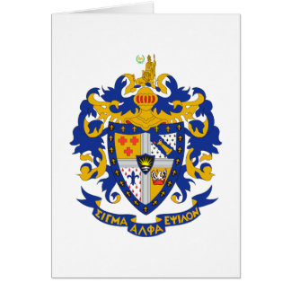 SAE Coat of Arms Color Stationery Note Card