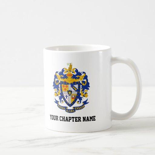 SAE Coat of Arms Color Classic White Coffee Mug