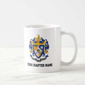 SAE Coat of Arms Color Coffee Mug