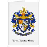SAE Coat of Arms Color Greeting Cards