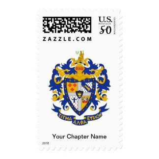 SAE Coat of Arms Color Postage