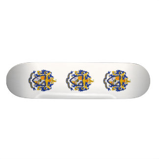 SAE Coat of Arms Color Skateboard