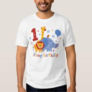 Safari 1st Birthday Tshirts