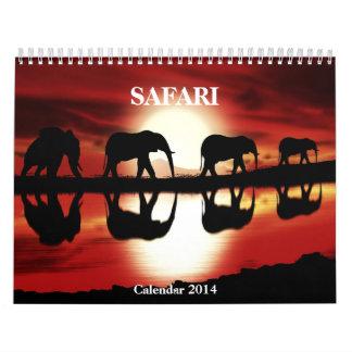 Safari 2014 del calendario
