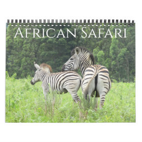 safari 2021 calendar