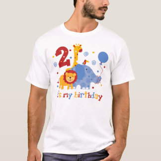 Safari 2nd Birthday T-Shirt