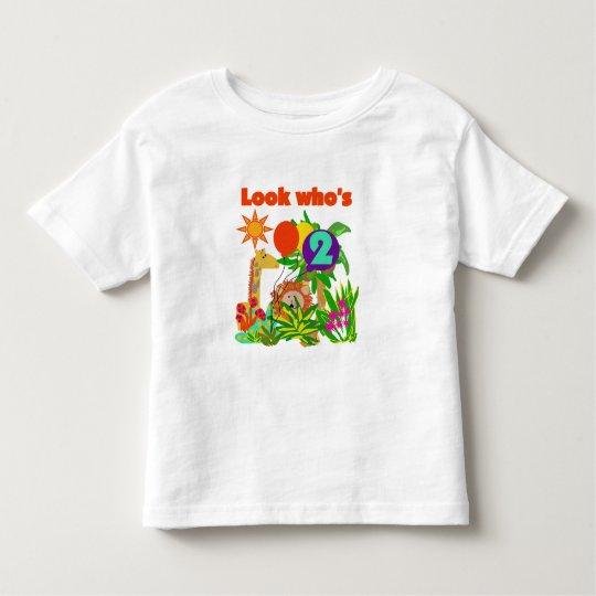 Safari 2nd Birthday T-shirts and Gifts