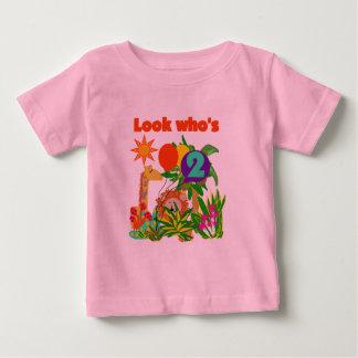 Safari 2nd Birthday T-shirts and Gifts