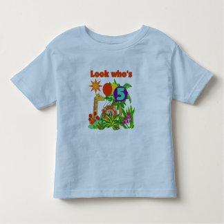 Safari 5th Birthday Tshirts and Gifts