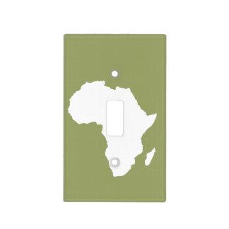 Safari África audaz verde Cubierta Para Interruptor