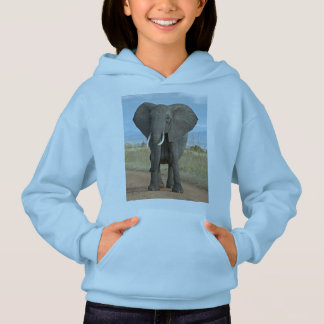 Safari Africa Cute Adorable Destiny Elephant Hoodie