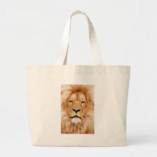 Safari África de rey Of The Jungle Face del león Bolsas