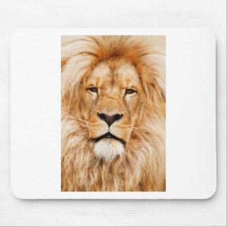 Safari África de rey Of The Jungle Face del león Tapete De Ratones