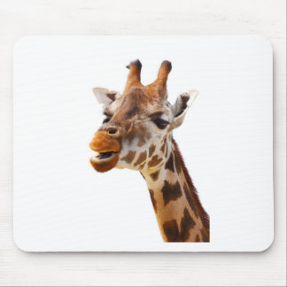 Safari Africa Jungle Giraffe Mouse Pad