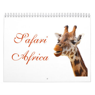 Safari African Jungle Destiny Animals Calendar