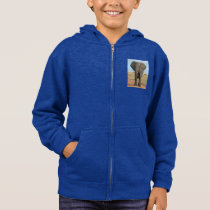 Safari African Jungle Destiny Animals Elephants Hoodie