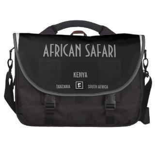 Safari africano bolsa de ordenador