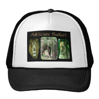 Safari africano gorro de camionero