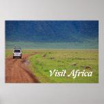 Safari africano impresiones