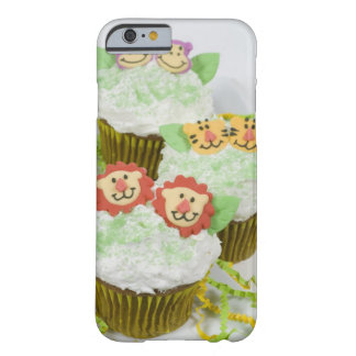 Safari animal party cupcakes. barely there iPhone 6 case