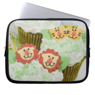 Safari animal party cupcakes. computer sleeve