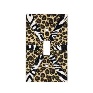 Safari Animal Print Design Light Switch Cover