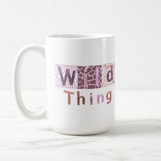 Safari Animal Print - Wild Thing Coffee Mug