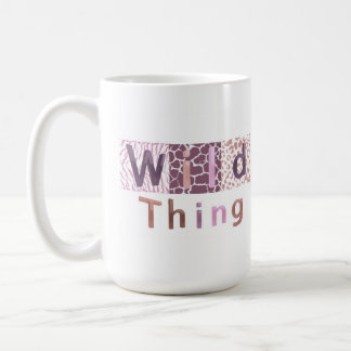 Safari Animal Print - Wild Thing Classic White Coffee Mug