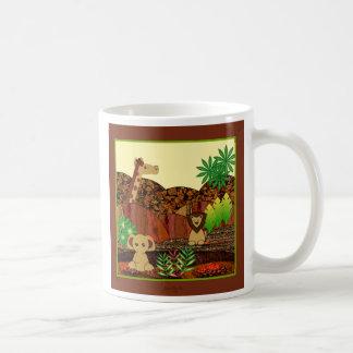 Safari animal taza clásica