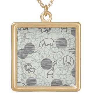 safari animals 1 necklaces
