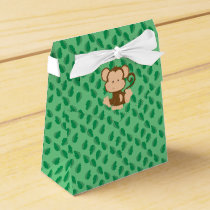 Safari Animals | Baby Monkey Favor Box