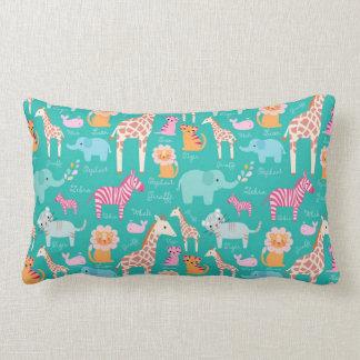Animal Nursery Pillows : Safari Baby Shower Pillows - Decorative & Throw Pillows Zazzle