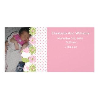 Safari Babiez Birth Announcement Girl
