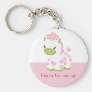 Safari Babiez Girl Key Chain-Tag 2 Basic Round Button Keychain