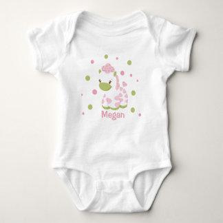 Safari babiez Personalized- t-shirt- Girl Baby Bodysuit
