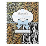 Safari Baby Shower Guest Book- Note Book