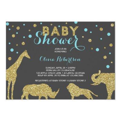 LION Baby Shower Invitation King of the Jungle KOT Zazzlecom