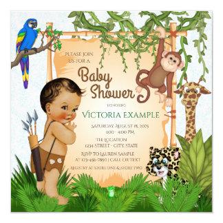 Delightful Safari Baby Shower Invitations