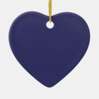 Safari Blue Save the Date Heart Ornament