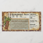 "Safari Boarding Pass<br><div class=""desc"">A custom design for your Safari Themed Event</div>"